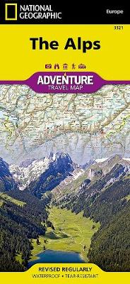 Alps: Travel Maps International Adventure Map (Sheet map, folded)