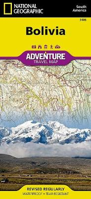 Bolivia: Travel Maps International Adventure Map (Sheet map, folded)