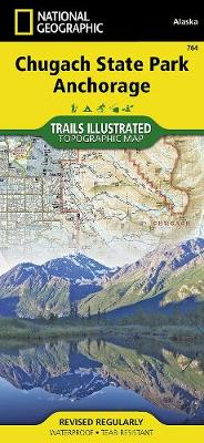 Chugach State Park Park: Trails Illustrated Other Rec. Areas (Sheet map, folded)