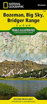 Bozeman, Big Sky: Trails Illustrated Other Rec. Areas (Sheet map, folded)