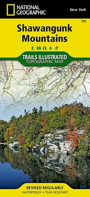 Shawangunk Mountains: Trails Illustrated Other Rec. Areas (Sheet map, folded)
