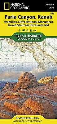 Vermillion Cliffs, Paria Canyon: Trails Illustrated (Sheet map, folded)