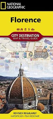Florence: City Destination Map and Travel Guide (Sheet map, folded)