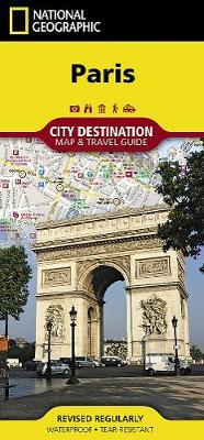 Paris Destination Map (Sheet map, folded)