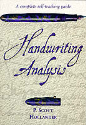 Handwriting Analysis: A Complete Self-teaching Guide (Paperback)