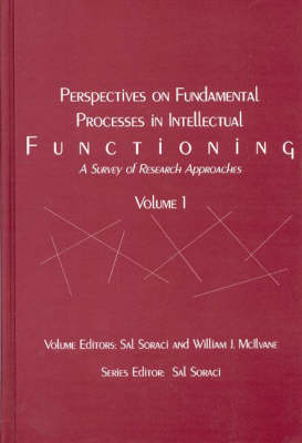 Perspectives on Fundamental Processes in Intellectual Functioning: Vol 1: A Survey of Research Approaches (Hardback)