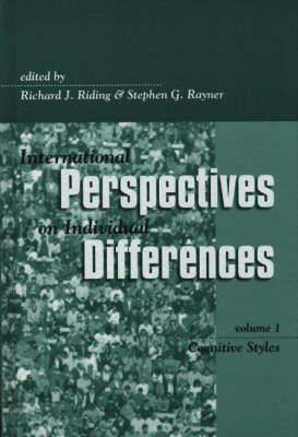 International Perspectives on Individual Differences: Cognitive Styles (Hardback)