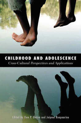 Childhood and Adolescence: Cross-Cultural Perspectives and Applications (Paperback)