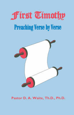 First Timothy, Preaching Verse by Verse (Paperback)