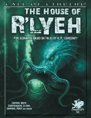 The House of R'lyeh - Call of Cthulhu (Paperback)