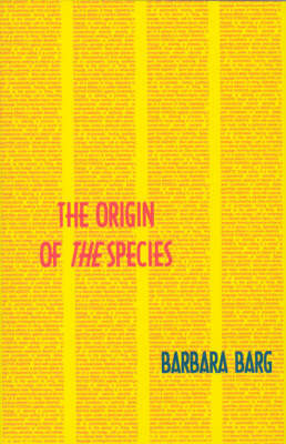 The Origin of <i>the</i> Species - Semiotext(e) / Native Agents (Paperback)