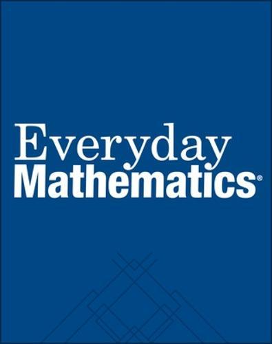 Everyday Mathematics, Grade 5, Study Links - EVERYDAY MATH (Paperback)