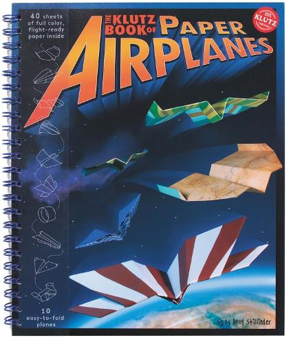 Book of Paper Airplanes - Klutz