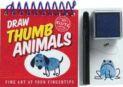 Draw Thumb Animals - Klutz