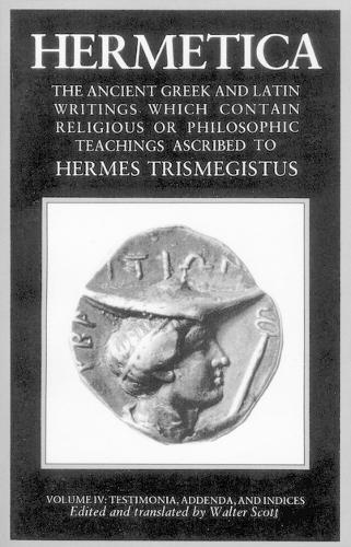 Hermetica Volume 4 (Paperback)