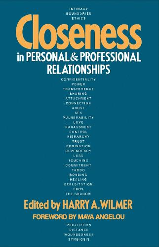 Closeness In Personal And Professional Relationships (Paperback)