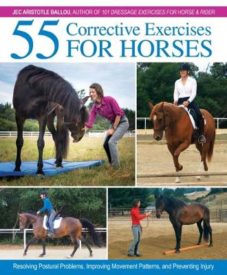 55 Corrective Exercises for Horses: Resolving Postural Problems, Improving Movement Patterns, and Preventing Injury (Hardback)