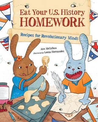 Eat Your U.S. History Homework (Hardback)