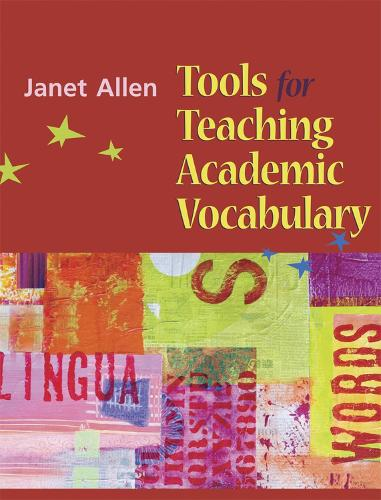 Tools for Teaching Academic Vocabulary (Spiral bound)