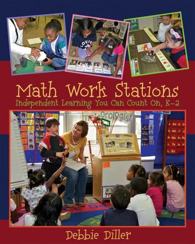Math Work Stations: Independent Learning You Can Count On, K-2 (Spiral bound)
