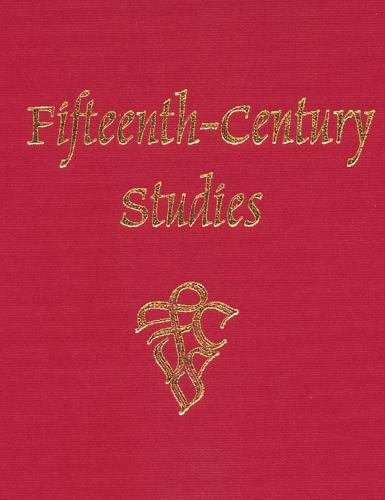 Fifteenth-Century Studies 34 - Fifteenth-Century Studies v. 34 (Hardback)