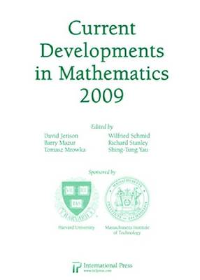 Current Developments in Mathematics, 2009 (Hardback)