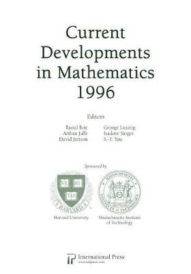 Current Developments In Maths 1996 Vol 2 (Paperback)