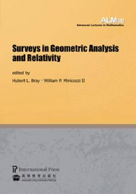 Surveys in Geometric Analysis and Relativity (Paperback)