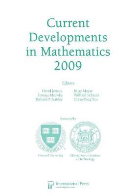 Current Developments in Mathematics, 2009 (Paperback)