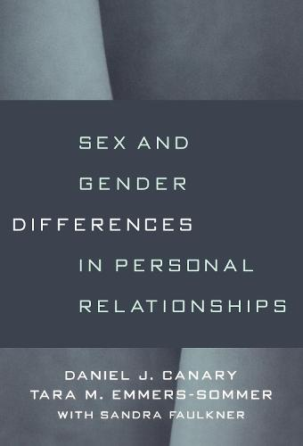 Sex And Gender Differences In Personal Relationships (Paperback)