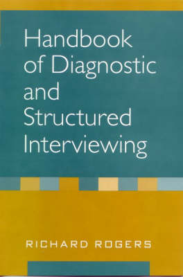 Handbook of Diagnostic and Structured Interviewing (Hardback)