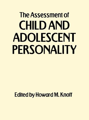 The Assessment of Child and Adolescent Personality (Paperback)