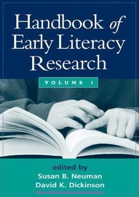 Handbook of Early Literacy Research, Volume 1 (Paperback)