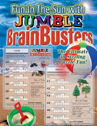 Fun in the Sun with Jumble (R) BrainBusters: The Ultimate in Sizzling Puzzle Fun (Paperback)