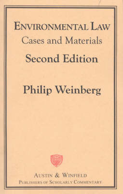 Environmental Law: Cases and Materials (Hardback)