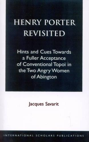 Henry Porter Revisited (Paperback)