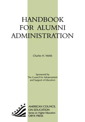 Handbook for Alumni Administration (Hardback)