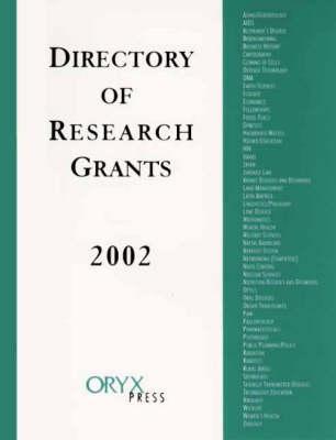 Directory of Research Grants 2002 (Hardback)