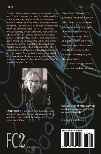 Theories of Forgetting - Fiction Collective Two (Paperback)