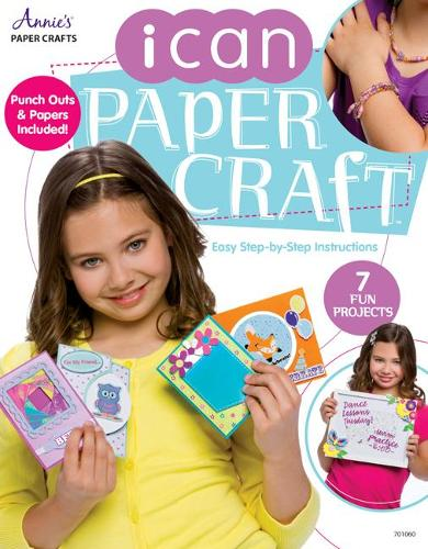 I Can Papercraft: Easy Step-by-Step Instructions - I Can (Paperback)