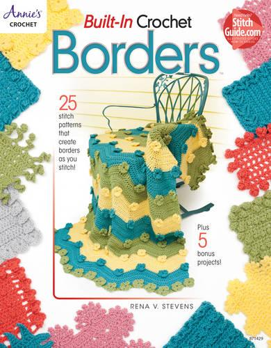 Built-In Crochet Borders (Paperback)