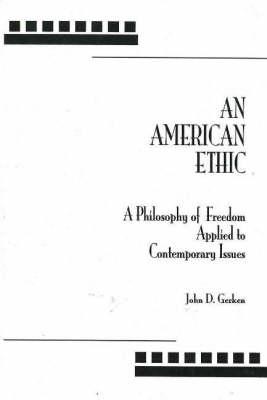 American Ethic, An (Hardback)