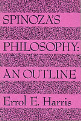 Spinozas Philosophy (Paperback)