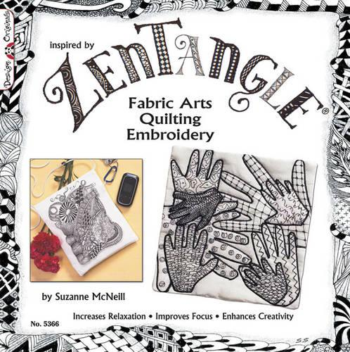 Zentangle Fabric Arts (Paperback)