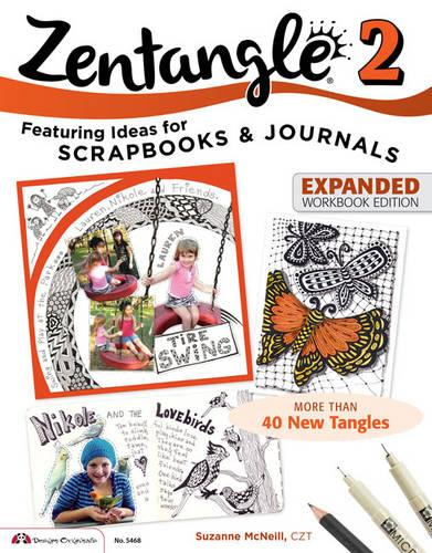 Zentangle 2, Expanded Workbook Edition (Paperback)