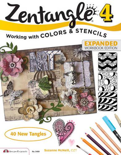 Zentangle 4, Expanded Workbook Edition (Paperback)