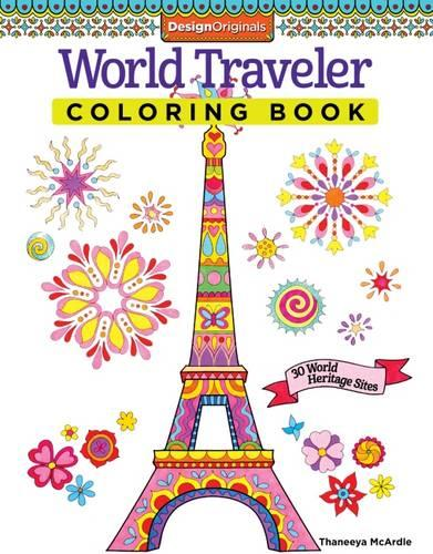 World Traveler Coloring Book (Paperback)