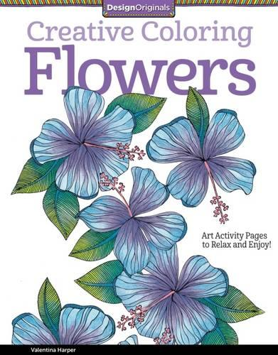 Creative Coloring Flowers (Paperback)