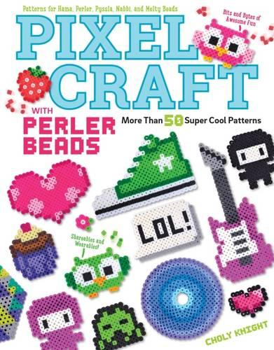 Pixel Craft with Perler Beads (Paperback)