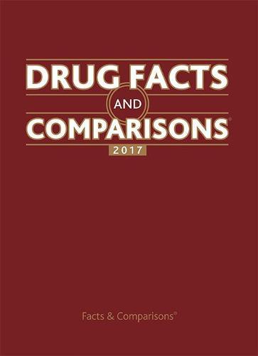 Drug Facts and Comparisons 2017 (Hardback)